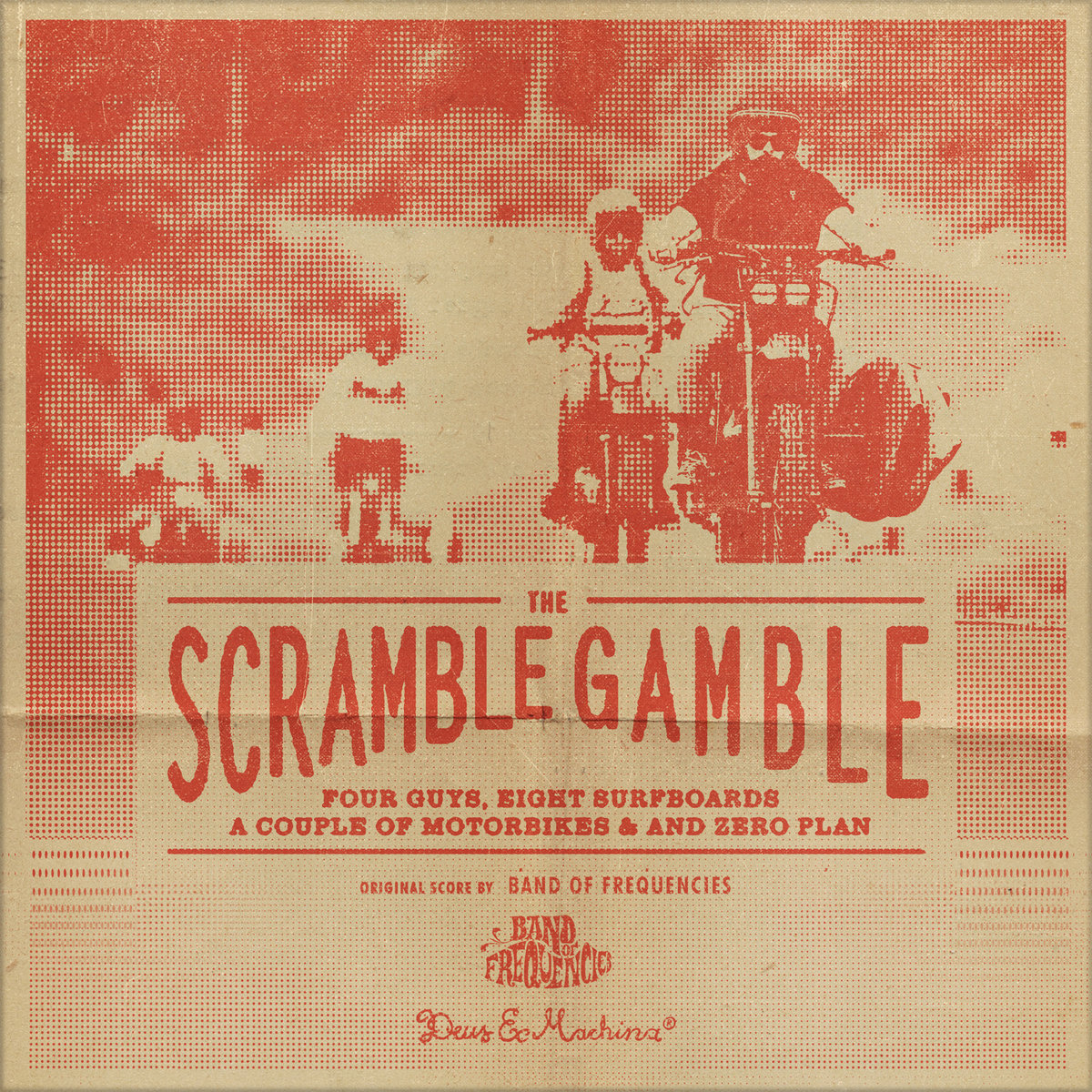 The Scramble Gamble LOG & Motorbikes Cross