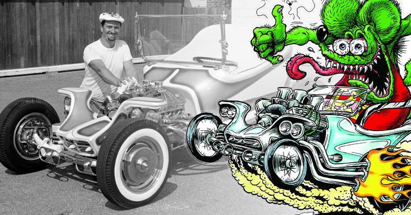 Ed 'Big Daddy' Roth: dibujante, Hotrodder Legend (1932-2001)